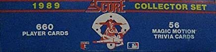 1989 Score Baseball Factory Set Loaded with Stars and Hall of Famers Including Cal Ripken,