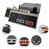 Classic Mini Retro Video Game Console with Preloaded 620 Games & 2 Controllers, Old School Video Games System for Kids, Birthday Gift Happy Childhood Memoriess, AV Output ONLY