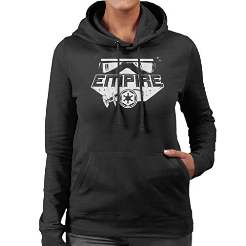 Star Wars Bold Empire montage Women's Hooded Sweatshirt