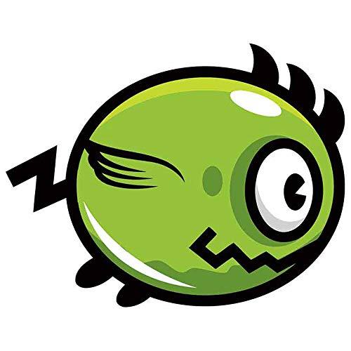 GQQ Auto Sticker 13Cm X 10.1Cm Voor Dieren Vogel Flapping Vliegende Motorfiets Auto Bumper Window Stickers Mode Sticker Geschikt voor Rv Stijl a