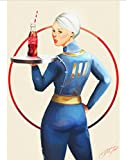 Póster De Lienzo New Fallout 76 Posters Vintage Papel Revestido Blanco Impresiones Decoración del Hogar Marca De Arte para El Hogar Compre 3 Obtenga 4 50 * 70Cm (Sin Marco)
