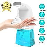 Yanglight 350ml Seifenspender Automatisch, Seifenspender Elektrischer Berührungsloser Handfreier Infrarot-Bewegungssensor Automatische Hand batterier für die Küche im Badezimmer
