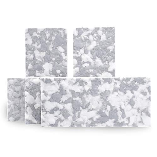 Melamin Handpad 115x250 mm, 5-er Packung, Reinigung Feinsteinzeug Fliesen Naturstein