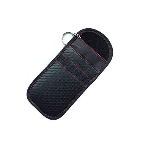 HAKFV Auto sleutelhanger Kaart Auto Sleutel Case FOB Signaal Blocker Bag RFID Shield Key ID Card Tassen Organizer voor Privacy Bescherming