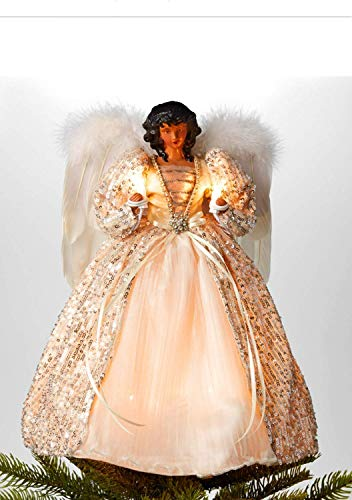 Holiday Lane African American Angel Tree Topper