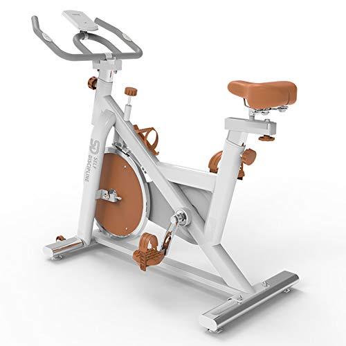 FEIFEI Bicicleta Estática Spinning, Fitness Spinning Bike Aerobic Home, Silenciosa Con Pantalla Táctil, Diferentes Resistencias,con Sensores De Pulso De Mano