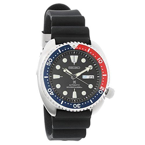 Seiko srp779Prospex X automático correa de caucho Pepsi 200M Diver reloj de Hombre