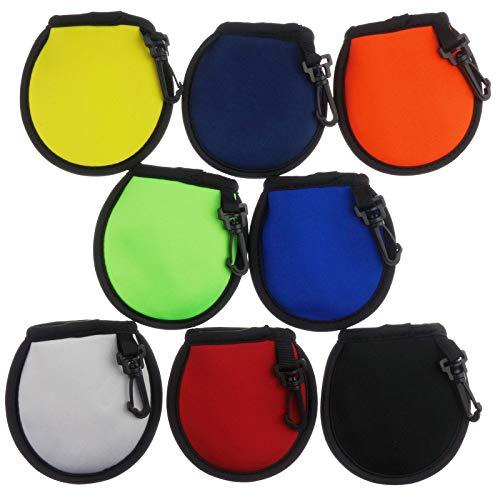 Zelerdo Portable Pocket Golf Ball Washer Golf Ball Cleaner Pouch (8...