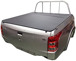 Mitsubishi Triton MQ/MR Dual Cab July 2015 to Current, Headboard Clip On Ute Tonneau Cover. Tuff Tonneaus Ute Covers are A...