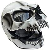 Creative Skull Helmet, Motorcycle Helmet, Necromancer Skull...