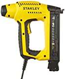 Stanley 6-Tre650 Easy-Load Electric Nailer - Anti-Jam Mechanism - Power Adjustment - Ergonomic Handle & Soft Head - Safety Trigger - for 5 Sizes of Nails