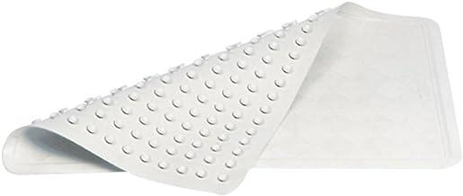 Rubbermaid Commercial Safti-Grip Bath Mat, Medium, White, 1982724