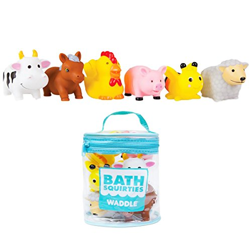 Bathtime Farm Animal Toys