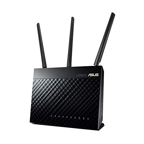 Asus RT-AC68U Router Wi-Fi, Collegamento Ethernet, LAN Dual-Band