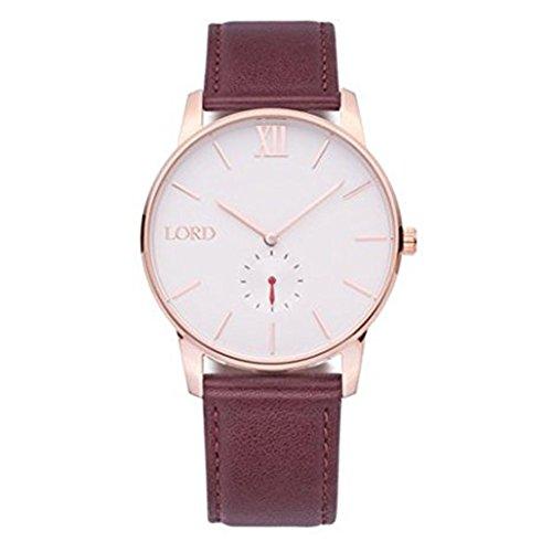 Lord Timepieces orologio. Solitude oro rosa marrone