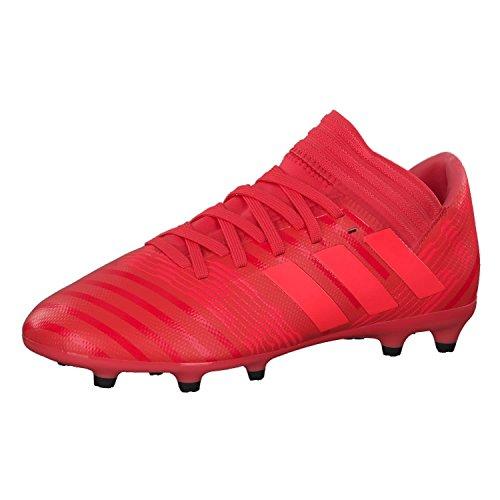 adidas Unisex-Erwachsene Nemeziz 17.3 FG JR CP9166 Fußballschuhe, Rot Reacor/Redzes/Cblack, 37 1/3 EU