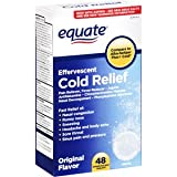 Equate Cold Relief Original Flavor Effervescent, 48 Tablets