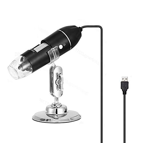 Hayve Digital Microscope,1080P Handheld Electronic Pocket Mini USB Microscope,1000X Magnification Coin Camera with 8 LED HD Lights,Compatible with Windows XP/Vista/7/8/10 Linux