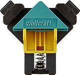 wolfcraft ES 22 Eckenspanner 3051000 Set – 2 Winkelspanner zur Fixierung von Brettern und Rahmen...