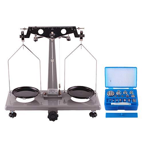 TTSUAI Estudiantes Universitarios Balanzas Experimentales Balanza Física Química Instrumento Básico Aparato Material Didáctico Laboratorio Bandeja Profesional Equipo De Equilibrio