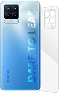 For realme 8 Back Screen Protector Clear Anti Scratch Gelatin Flixable