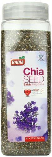 Badia Chia Seed, 22 Ounce