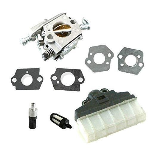 Filtro de aire carburador compatible con motosierra S-TIHL 021 023 025 MS210 MS230 MS250