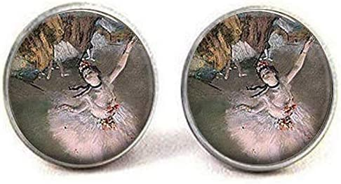 Opening large At the price of surprise release sale Ballerina Jewelry Ballet Earrings Art Student Pictur Gift