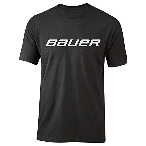 Bauer SS Tee Core Crew W/Graphic - Senior, Größe:XL, Farbe:schwarz