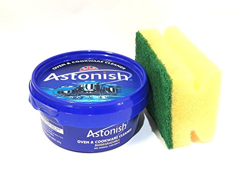New Astonish Oven & Cookware Cleaner | 8.4 oz With 1 Scrubber | As Seen on TV