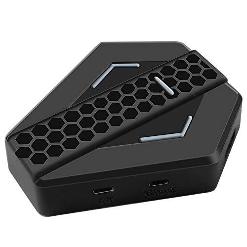 LaLa POP Gaming Keyboard Y El Ratón del Convertidor, Teclado Ratón USB Adaptador Convertidor For X-360 / X-1 / P3 / P4 / N-Switch Consola De Juegos Gamepad