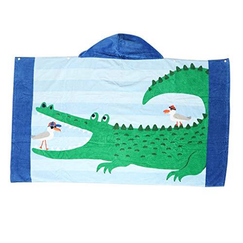 Asciugamano da Bagno Mantella con Cappucio Accessori Biancheria da Bagno per Bambini - Tipo 3