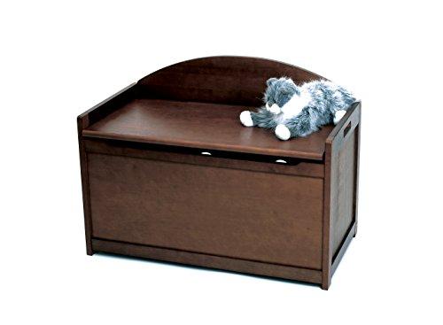 kids toy chest in espresso - 2