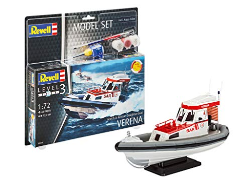 Revell REV-65228 Model Set Search & Rescue Daught Modellbausatz + Zubehör, Mehrfarbig, 1: 100