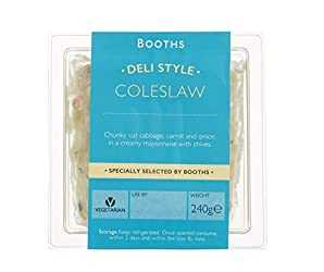Booths Deli Style Coleslaw, 240g