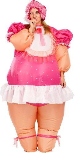 Playtastic Kostüme zum Aufblasen: Selbstaufblasendes Kostüm Riesenbaby (Kostüme für Damen und Herren)
