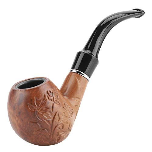 Pipa de Madera de Tabaco, marrón Pipa...