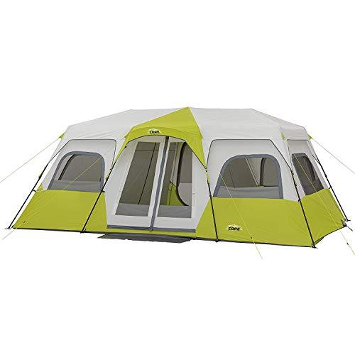 CORE 12 Person Instant Cabin Tent – 18′ x 10′ …- Light