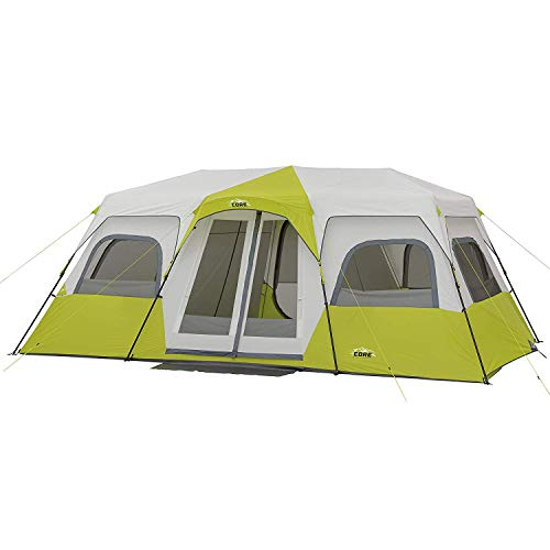 CORE 12 Person Instant Cabin Tent - 18' x 10' …- Light Georgia