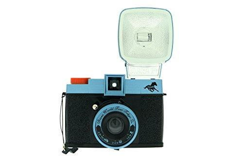 Lomography Diana F+ Tokyo Rising Camera w/ Flash, Color Gel Filters 575