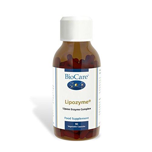 BioCare Lipozyme (Fat Enzyme Complex) 90 Capsules