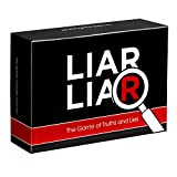 LIAR LIAR - The Game of Truths and Lies - Family Friendly Party Games - Card Game for All Ages - Adults, Teens and Kids
