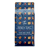 Coffee Over Cardio French Toast Coffee Grounds (12oz Bag) - Texas Sweet Bread Flavored, 100% Arabica Beans, Costa Rica Light Roast Coffee Grounds
