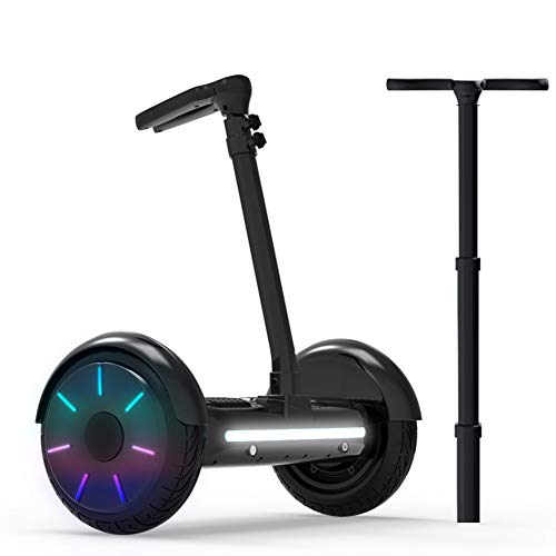 LXLTLB Hoverboard, All-Terrain Two-Wheel Self Balancing Flash Wheel Electric Scooter with Wireless...
