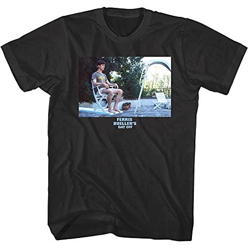 Ferris Bueller Cameron Diving Board Men's T Shirt Frye Breakdown Folding Chair Men Black XL