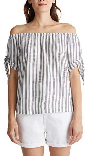 edc by Esprit 040cc1k337 T-Shirt, 400 / Blu Marino, S Donna