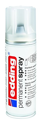 edding 5200-995 Spray de pintura acrílica, Transparente mate, 200 ml