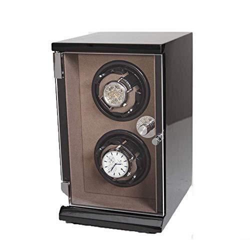 GLXLSBZ 2 + 0 Relojes Enrollador automático de Reloj Pantalla táctil Inteligente con cajón Caja de Madera 5 Modos Enrollador de Reloj de Pulsera Rotador-15 y Tiempos; 19 y Tiempos; 26 CM