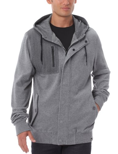 Globe Jacobs Sweatshirt Kapuzenpullover Herren Small grau - Athletic Grey