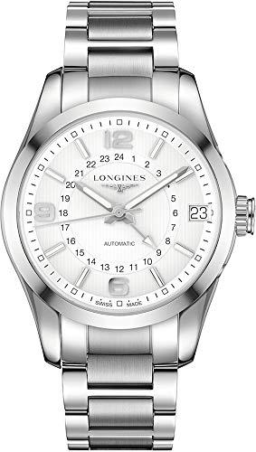 Longines Conquest Classic Reloj GMT automático para hombre L27994766